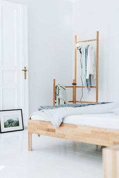 my scandinavian home: Winner of the beautiful Align shelf by Walden! Living Room Furniture Arrangement, Bedroom Furniture, Home Furniture, Bedroom Decor, Wooden Furniture, Interior Design Blogs, Scandinavian Interior Bedroom, Scandinavian Home, Furniture Styles