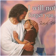 I will not forget you Isaiah 49