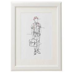 Graduate Collection Emma Cowlam Daper Man Print - £32 > http://www.modern.co.uk/p/Graduate_Collection_Emma_Cowlam_Daper_Man_Print.htm