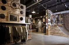 Sitka Store, Victoria - wall display