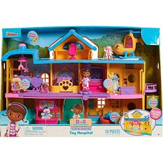 Doc McStuffins Toy Hospital Playset Disney Lambie 4 Figures for sale online Toy Story Party, Toy Story Birthday, 2nd Birthday, Cool Toys For Boys, Kids Toys, Doc Mcstuffins Toys, Toddler Girl Gifts, Bubble Guppies Birthday, Ladybug Party