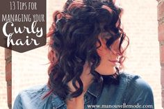 14 Tips for Styling Curly Hair