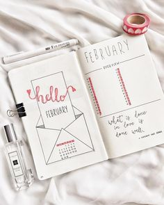 Simple Bullet Journal Ideas To Organize Your Ambitious Goals Well . - Simple Bullet Journal Ideas To Organize And Accelerate Your Ambitious Goals Well – - Bullet Journal Simple, Bullet Journal 2018, February Bullet Journal, Bullet Journal Spread, Bullet Journal Inspo, Bullet Journal Layout, Book Journal, Bullet Journal Goal Tracker, Bullet Journal Months