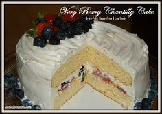 Very Berry Chantilly Cake (Adult Birthday Cake) | Grain-Free & Low-Carb Satisfying Eats