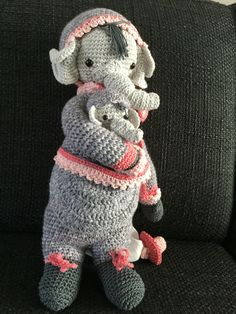Mama en baby olifant voor Jade.