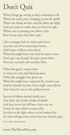 Inspirational Poems For High School Students - teacher ...