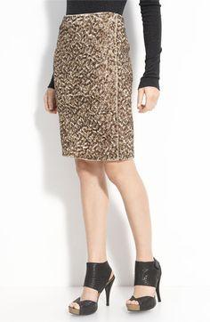 sequins!  #vince sequin pencil skirt #nordstrom