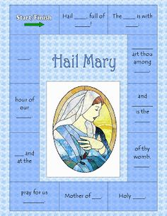 The Catholic Toolbox: Lesson Plan- Mary is the Mother of Our Church (1st grade on up)