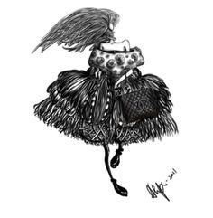 7.2011 an illustration for Chanel Bag