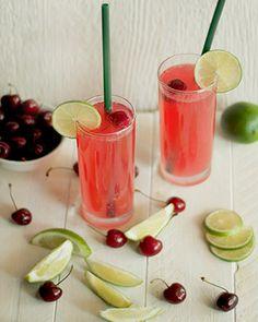 Summer cherry limeade recipe