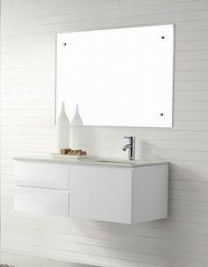 Ordinaire Modern White Bathroom Vanity. Manisa 1200 Wall Hung White Bathroom Vanity  Soft Closing Modern Vanities