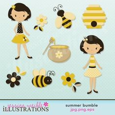 clipart - adorable stuff.... remember for classroom printables (not free)