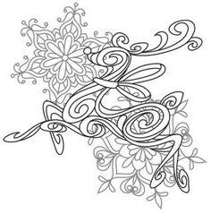 Baroque Noel - Reindeer_image