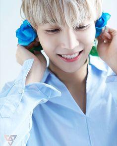 THE SMILE Seungkwan, Mingyu, Woozi, Jeonghan Seventeen, Seventeen Scoups, Blonde Asian, Choi Hansol, Sweet Guys, Seventeen Debut