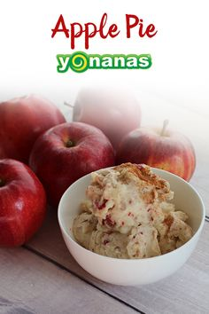 "All the flavors of Apple Pie whipped up into this ""creamy"" but dairy-free Yonanas treat!"