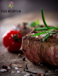 Steak Florentine | Pure Mountain Olive Oil and Vinegars | www.PureMountainOliveOil.com | Steak cooked to perfection, made amazing with Pure Mountain's Garlic Olive Oil and Smoked Bacon Chipotle Sea Salt. | #steakflorentine #extravirginoliveoil #garlicoliveoil #puremountain #smokedbaconchipotle #chipotle #oliveoil #easysteak #steakrecipe