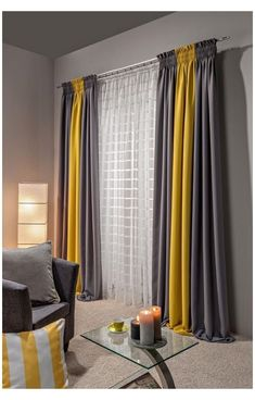 Living Room Decor Curtains, Home Curtains, Rustic Curtains, Modern Curtains, Kitchen Curtains, Unique Curtains, Beautiful Curtains, Home Living Room, Living Room Designs