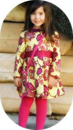 La pequeña aprendiz: Otoño Floral Burda Style de 09/2012 (modelo 152)