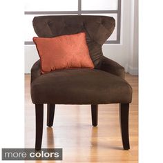 Shop for Curves Hour Glass Easy Care Fabric Accent Chair. Get free shipping at Overstock.com - Your Online Furniture Outlet Store! Get 5% in rewards with Club O!