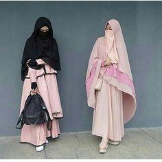 Hijab Gown, Hijab Niqab, Hijab Chic, Mode Hijab, Modern Hijab Fashion, Muslim Fashion, Muslim Girls, Muslim Women, Hijab Collection