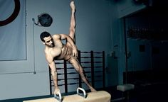 Gymnast Daniel Leyva....Oh how I'd love to get gym-NASTY with this one!!!