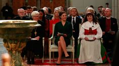 Crown Princess Victoria attended the opening of the General Synod at Uppsala Cathedral