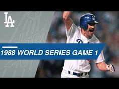 Extended Cut of Gibson, Dodgers' walk-off in Game 1 of the 1988 World Series 1988 World Series, Kirk Gibson, La Rams, Mlb Teams, Home Team, Game 1, Detroit Tigers, Los Angeles Dodgers, Angels