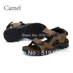 Free Shipping 2014 new discount summer Camel men's sandals flat Casual Platform Sandals Slippers men 39-44 yards