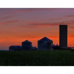 Summer Farm at Twilight from Emergent Light Studio for $90.00