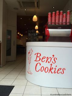 Ben's Cookies Carnaby Street, review