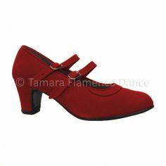 Zapato semiprofesional de flamenco 2 correas en piel de ante / Semi professional 2 straps suede flamenco shoes    https://www.tamaraflamenco.com/es/zapatos-de-ensayo-semiprofesionales-8