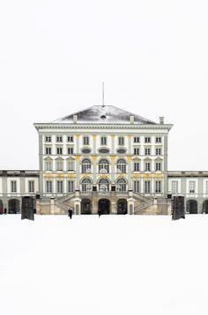 The stunningly Beautiful Nymphenburg Palace in Munich, Germany