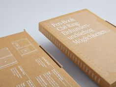 Paper world print and packaging designed by CCRZ.