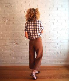 Tessuti Fabrics :: New Look 6459 pants pattern review