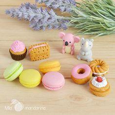 27 modelos de gomas iwako en www.miamandarina.es