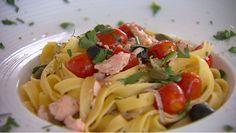 Tagliatelle al salmone - recept | 24Kitchen