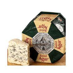 Cheeses - Blue Cheeses - St. Agur Blue Cheese - 26742 One of my favs!