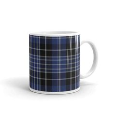 Clark Scottish Tartan Clan Mug Two sizes! Printed-to-order in the U.S.A. by AbnormalBungalow on Etsy