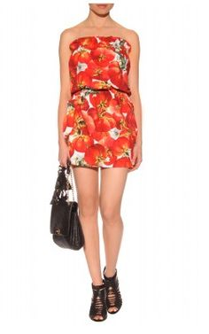 http://hire.girlmeetsdress.com/products/tomato-print-dress  DOLCE & GABBANA  Tomato Print Dress  Hire: £59