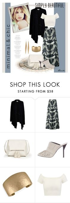 """""""Minimal Chic"""" by quicherz ❤ liked on Polyvore featuring Velvet by Graham & Spencer, F.R.S For Restless Sleepers, Sole Society, 3.1 Phillip Lim, Rachel Rachel Roy, Alice + Olivia and Kenneth Jay Lane"""