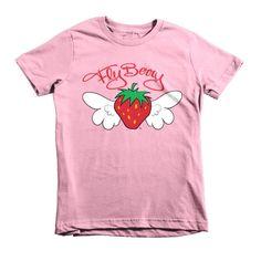 FlyBerry™ Script Kids T-Shirt