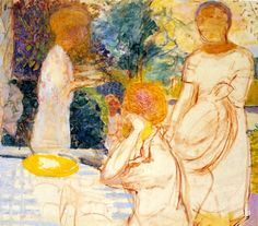 pierre bonnard / young women in the garden