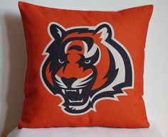 NFL Cincinnati Bengals pillow, Cincinnati Bengals decor pillow cover,Cincinnati Bengals gift