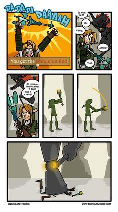 AWKWARD ZOMBIE - Spare the Rod   Zelda: Twilight Princess