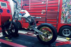 Honda Monkey Baja from Taiwan - Pit Bike, Honda Monkey, Honda Dax, Street Moto, Mini Moto, Motorcycle Icon, 50cc, Kustom, Custom Bikes