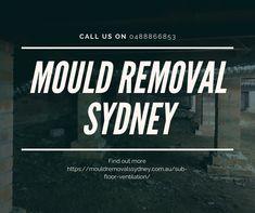 Sub Floor Ventilation Sydney - Mould Removals Sydney Cross Flow, Floor Molding, Concrete Slab, Timber Flooring, Enough Is Enough, Sydney, How To Remove, Wood Flooring, Wooden Flooring