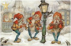 Anton Pieck & Efteling  Anton Franciscus Pieck [April 19, 1895~~November 24, 1987]was a Dutch painter, artist and graphic artist. His works are noted for their nostalgic or fairy tale-like character and are widely popular, appearing regularly on cards and calendars.