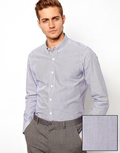 Shop ASOS Smart Stripe Shirt in Long Sleeve at ASOS. Order now with multiple payment and delivery options, including free and unlimited next day delivery (Ts&Cs apply). Asos Men, Asos Online Shopping, Latest Fashion Clothes, Chef Jackets, Women Wear, Shirt Dress, Long Sleeve, Mens Tops, Shirts