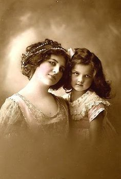 Mother and daughter, c. early 20th C.
