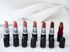 mac favorite lipsticks